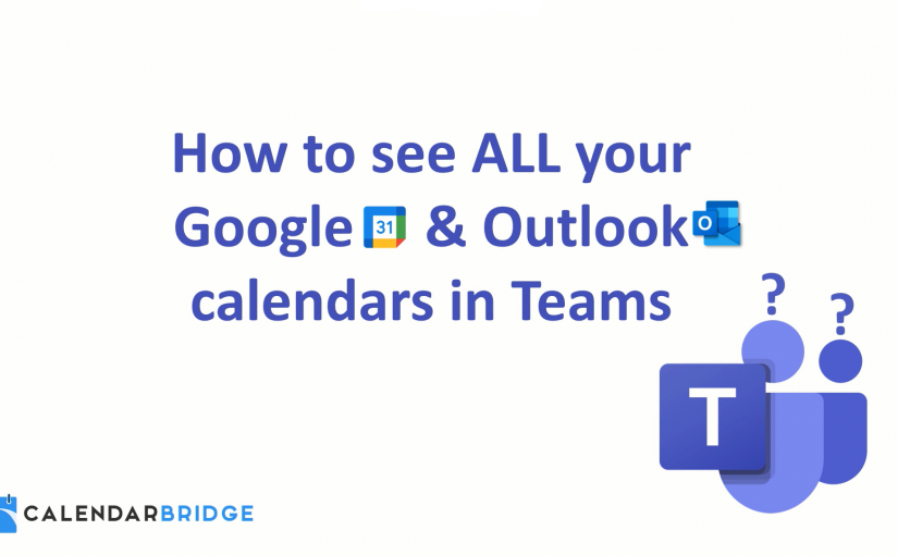 How to Sync All Your Calendars to Microsoft Teams